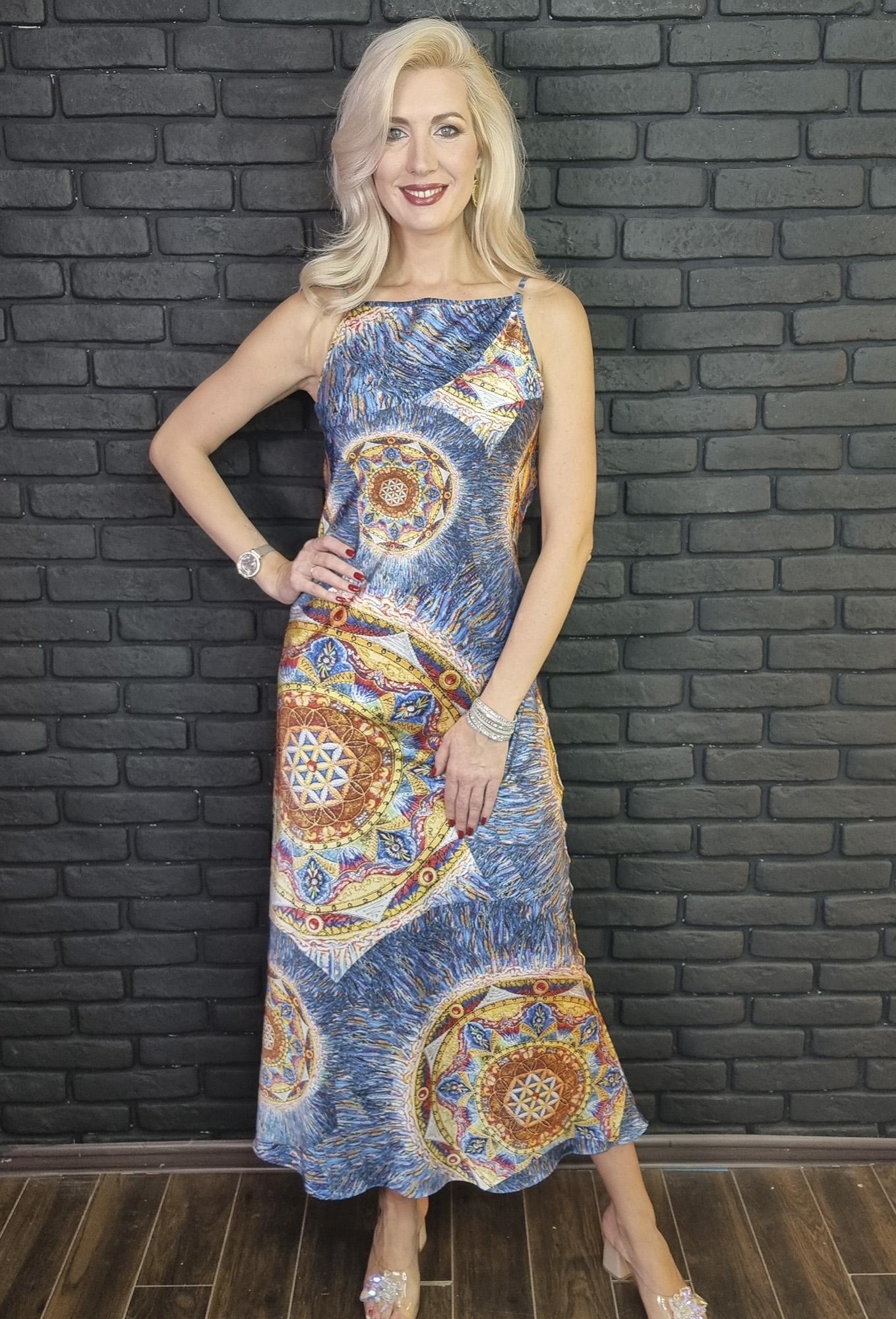 """Шелковое платье """"Легкость"""""""