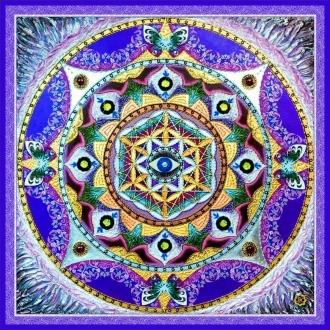 """Шелковый Платок - символ """"Знаний, реализации Божественного потенциала и Защиты"""""""
